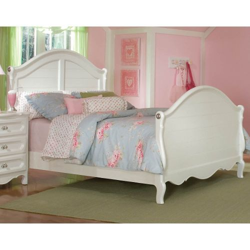 adrian white classic twin sleigh bed in 2018 shae new room rh pinterest com