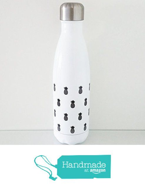 Exclusive Trinkflasche in der Farbe weiß aus Edelstahl mit - outdoor küche edelstahl