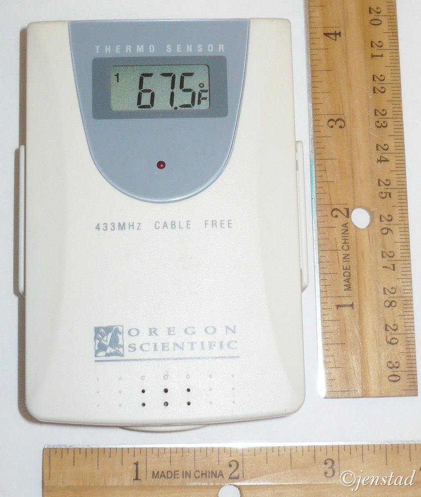 oregon scientific 433 mhz cable free electronic temperature thermo rh pinterest com Oregon Scientific Rain Monitor Manual Oregon Scientific Thermometer