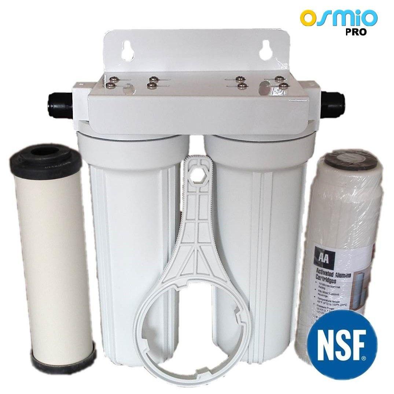 Osmio EZFITPRO300 Undersink Water Filter Kit 15mm Push