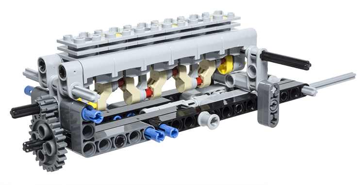 LEGO Technic Building Tip - 2 Function Switch using Gears   Lego ...
