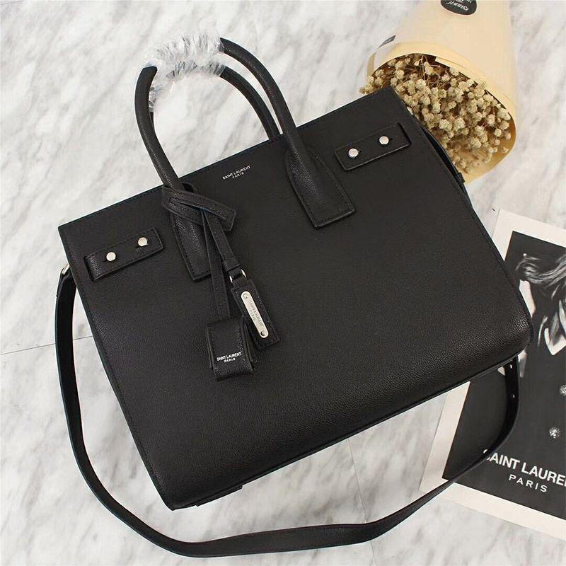 Saint Laurent Small Sac De Jour Souple Bag In Grained Leather Black Outlet Yves Saint Laurent Cheap Sale Store Ysl Handbags Bags Handbags Michael Kors