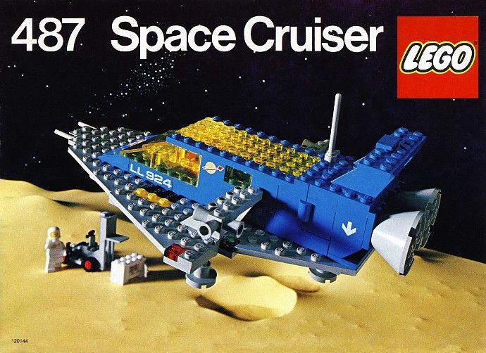 487-1: Space Cruiser | Brickset: LEGO set guide and database