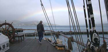 Stand on the stern of Balclutha, face west to feel the fresh wind blowing in from the Pacific Ocean. Located in the Fisherman's Wharf neighborhood, San Francisco Maritime National Historical Park offers the sights, sounds, smells and stories of Pacific Coast maritime history.