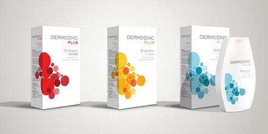 Dermozinc Shampoo Packaging Design