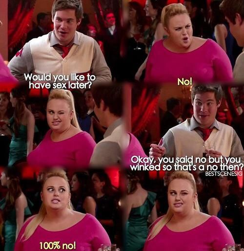 Fat Amy Pitch perfektes Zitat