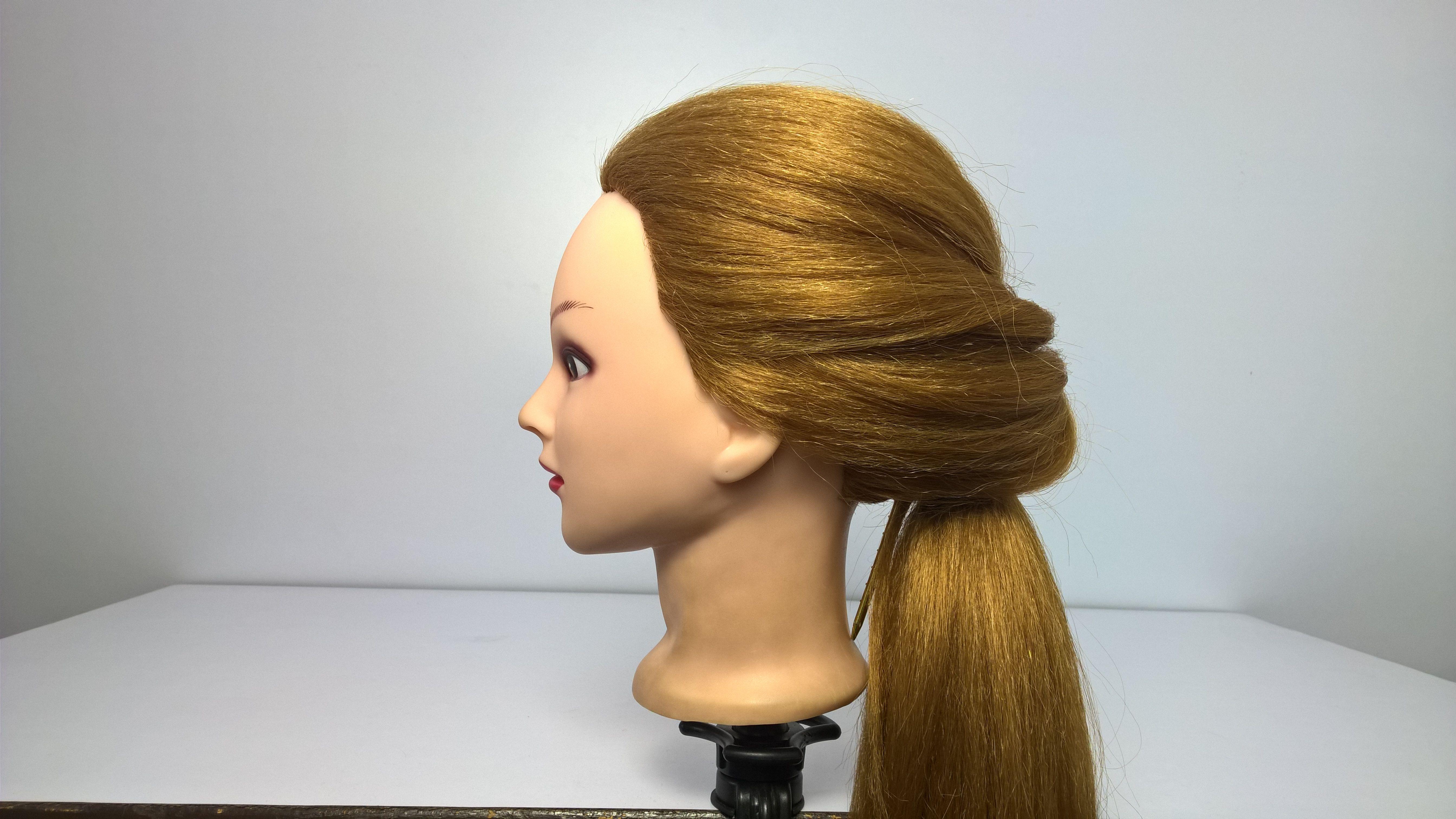 Simple Straight Hair Arrangement Full Video Straight Hairstyles Hair Styles Easy Hairstyles