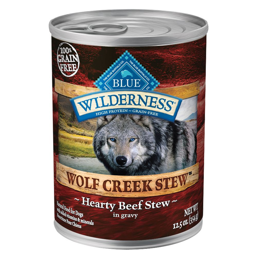 Blue Buffalo Wilderness Wolf Creek Stew Grain Free Beef
