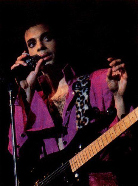 Rare Prince pic, Parade Tour 1986