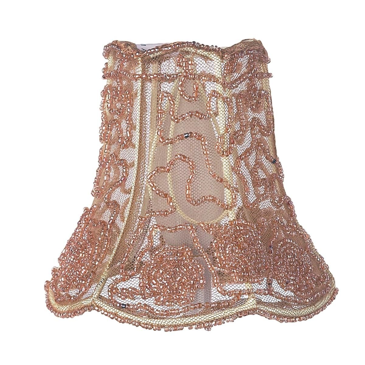 5 embroidered bead and tulle chandelier shade pillowsfabric 5 embroidered bead and tulle chandelier shade arubaitofo Gallery