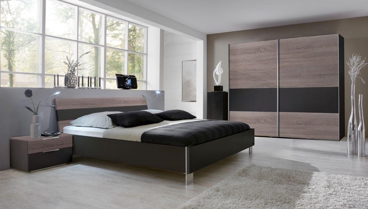 Schlafzimmer komplett Lodge Montana Lava 7263. Buy now at https ...