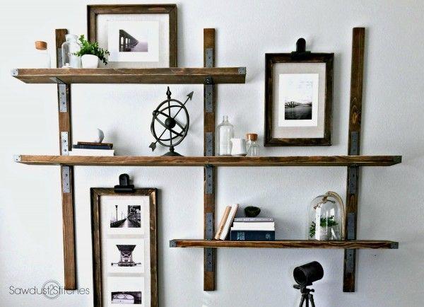 simpson strong tie wall mounted shelves shop garage stuff rh pinterest com