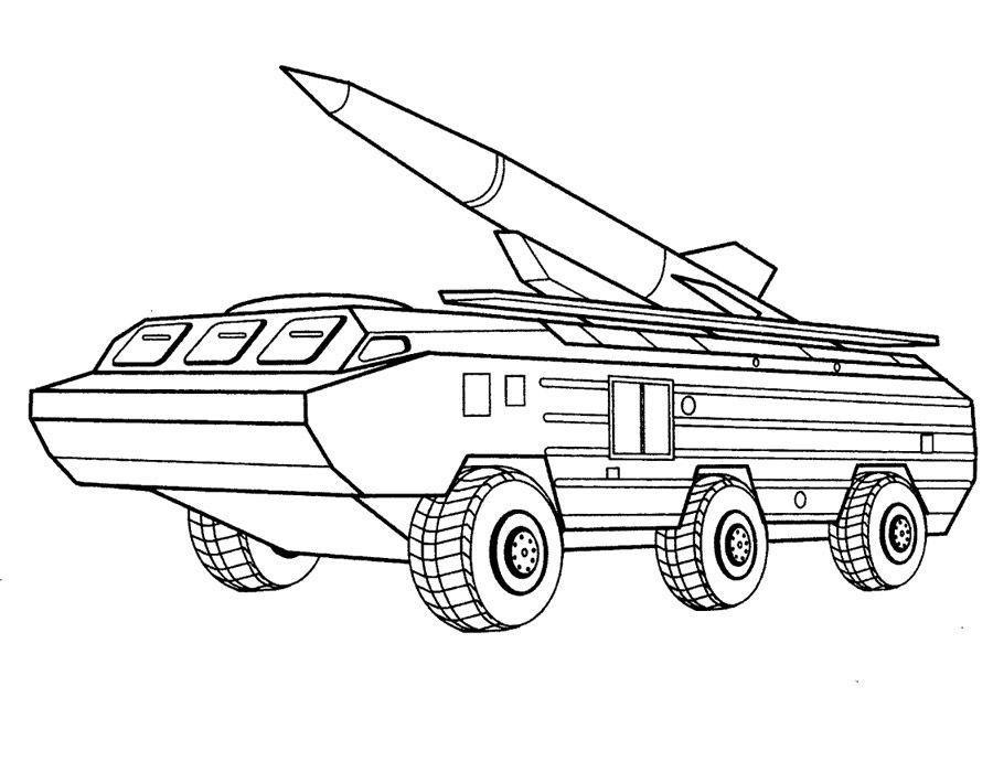 Army Vehicle Coloring Pages Raskraski Besplatnye Raskraski Oruzhie