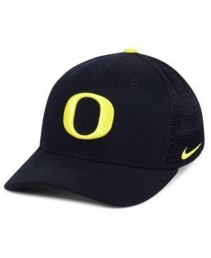 newest 17b46 af558 Nike Oregon Ducks Col Aro Swooshflex Cap - Black S M