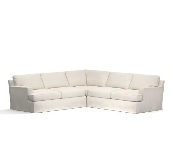 townsend square arm slipcovered sofa arms squares and cozy rh pinterest com