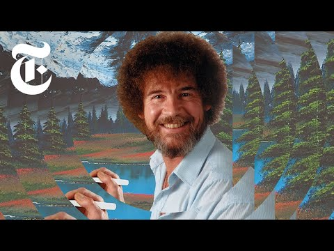 62 Where Are All The Bob Ross Paintings We Found Them Youtube Bob Ross Paintings Bob Ross Artist Books