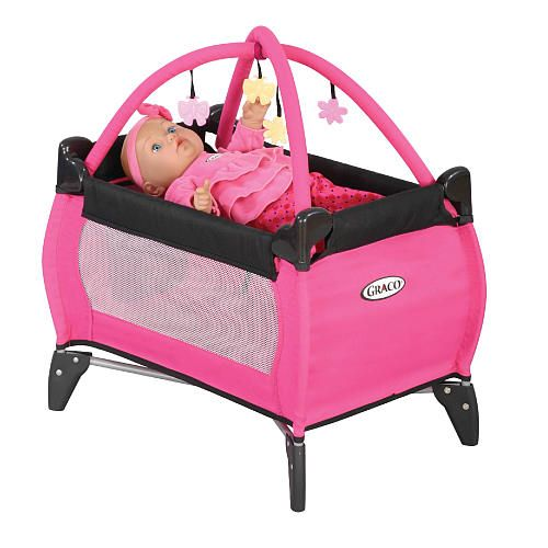 Graco Doll Musical Pack N Play With Playgym Tolly Tots