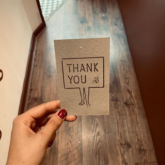 Teachers- where would we be without them and their patience? Come in, pick a box and grab a Thank You Stamp. -Also- It's our second birthday today! So thank you- to all of you too.  the first to try it and let us know what you thiiiinnnnkkk!!!