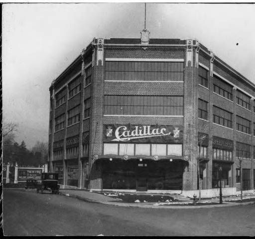 Cadillac Dealership: 11th & Boston: Greenlease Motor Car Company: Cadillac Dealership