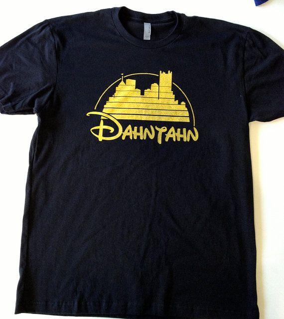 7fa7a764 The official Dahntahn Pittsburgh tshirt-Dan needs this for our next Disney  trip!