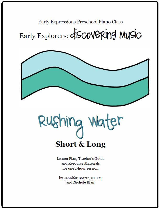 The Teaching Studio Rushing Water Lesson Plan  Giveaway