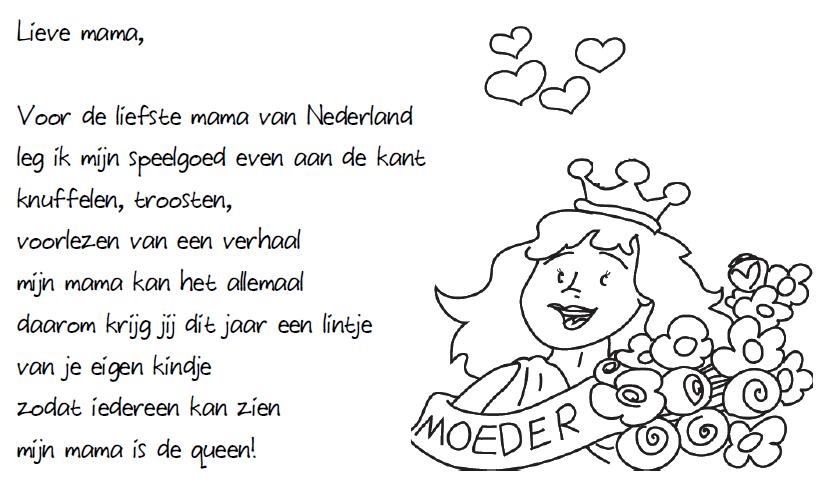 voor de liefste nederland moederdag gedichten