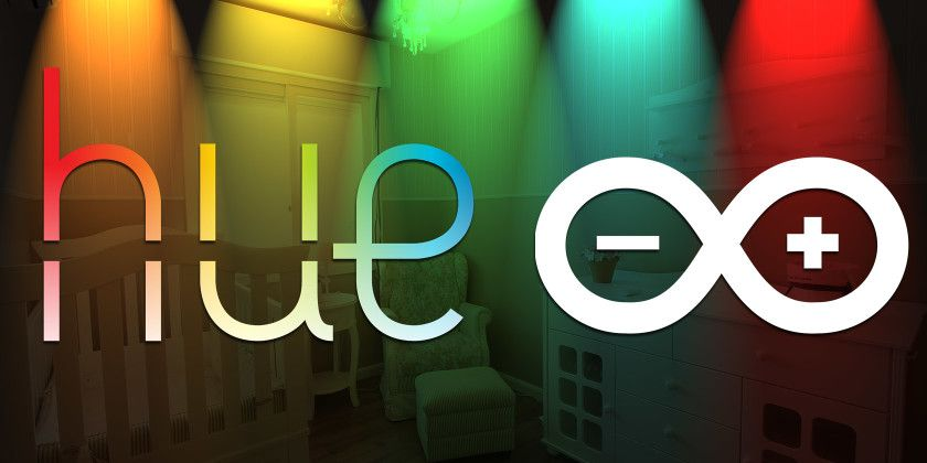 How to Control Philips Hue Lights from an Arduino (and Add a Motion Sensor)