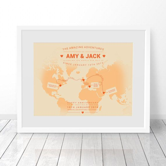 Personalised world map custom world map travel map world map personalised world map custom world map world travel map world map print map of the world 1st anniversary gift 40th birthday gift gumiabroncs Choice Image