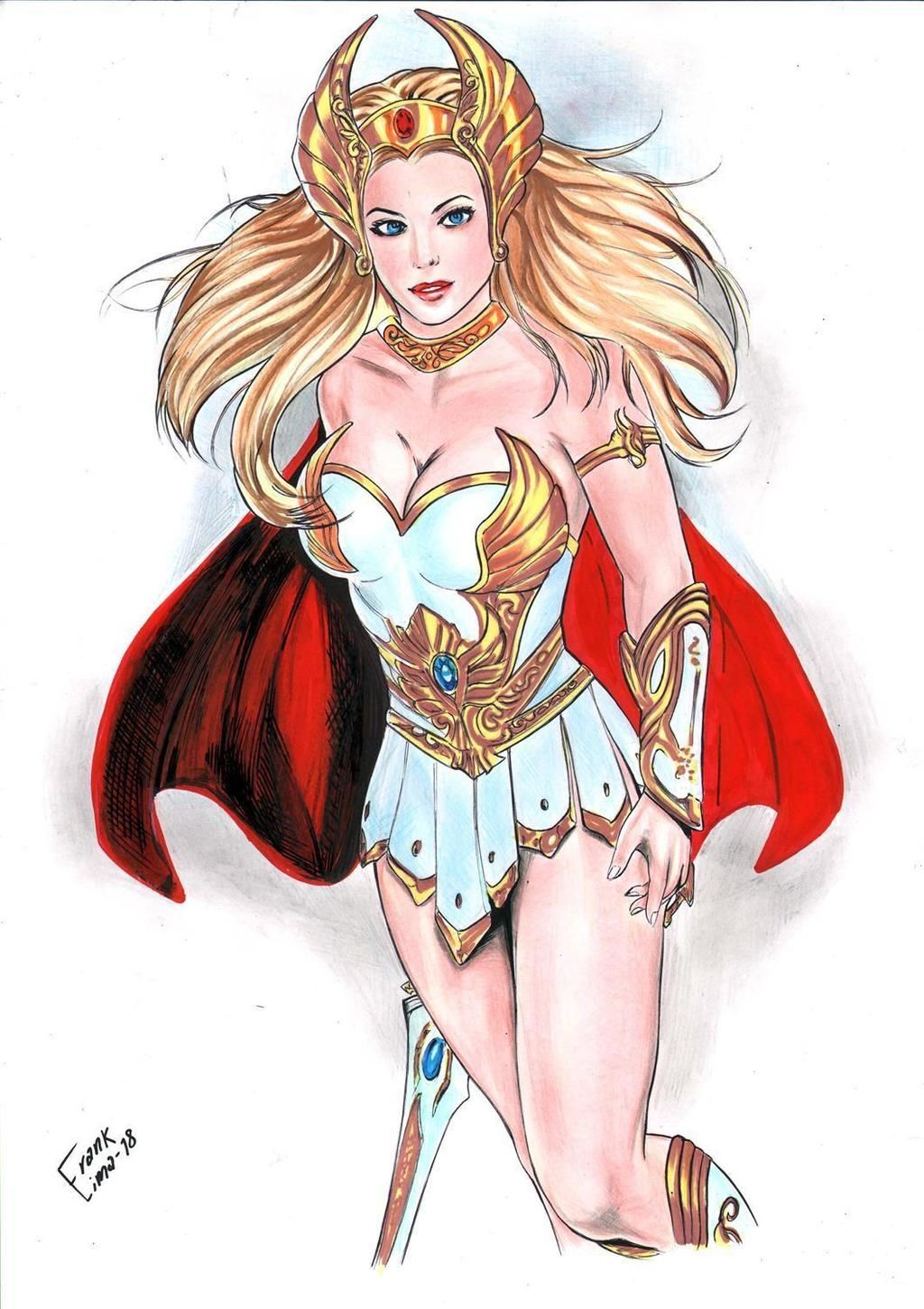 She-Ra by alanscampos on DeviantArt