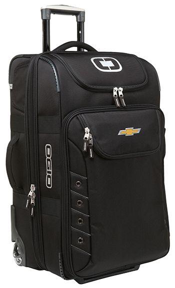 Nursing Bags On Wheels >> Chevrolet Deluxe Luggage Bag | Chevrolet Bags, Purses, Luggage | Travel bags, Luggage bags, Best ...