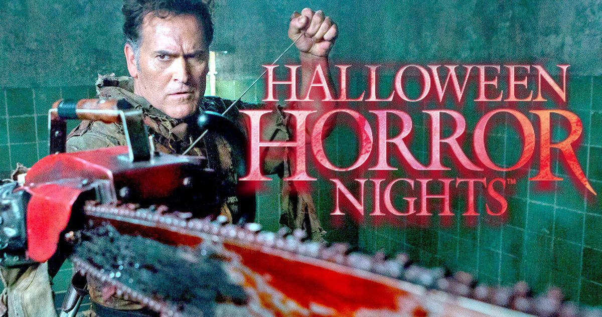 'Ash Vs Evil Dead' Maze Is Coming to 'Halloween Horror