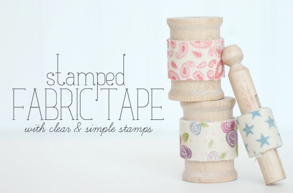 Creative Crafting with Double Stick Adhesive #fabrictape