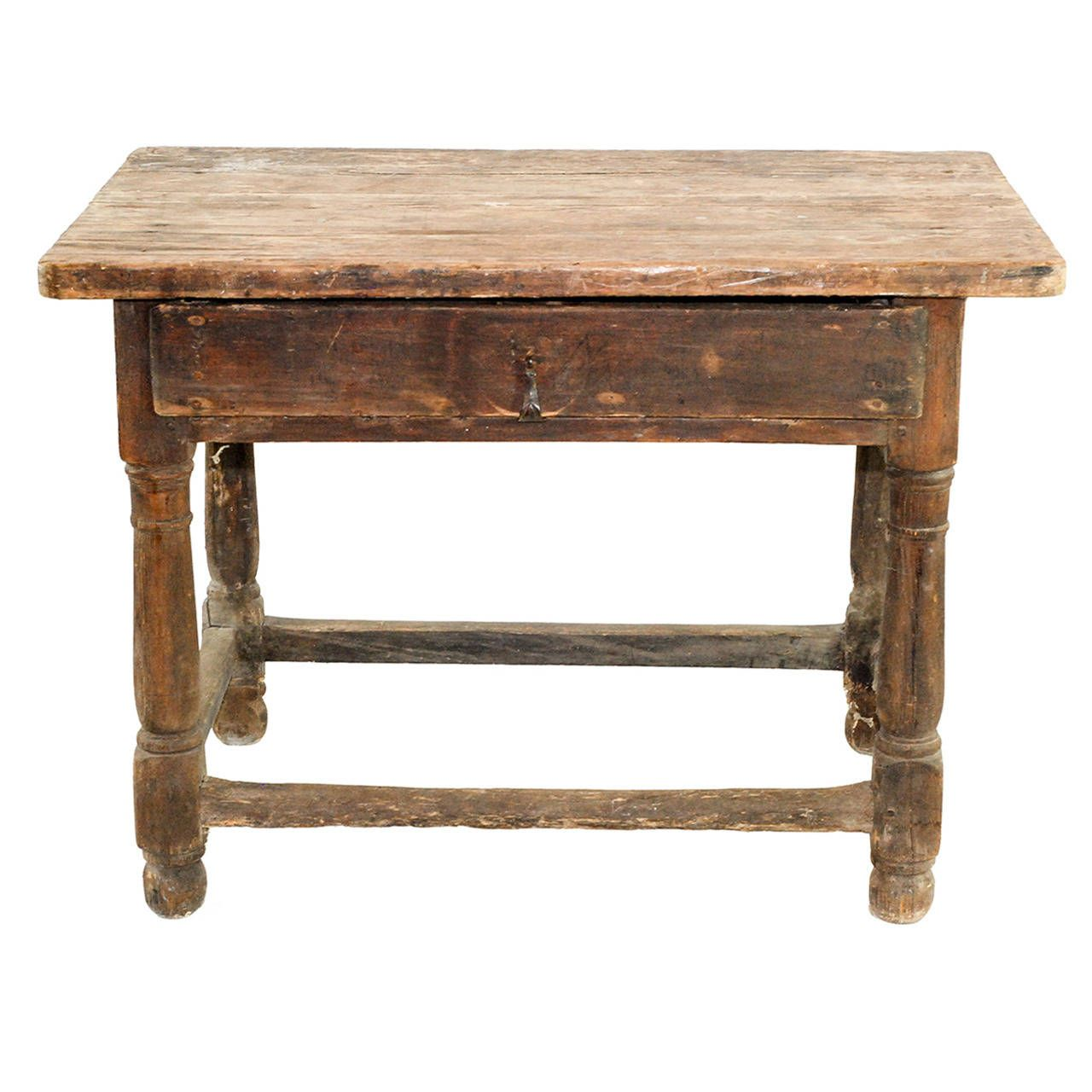 19th C. Farm Table | From a unique collection of antique and modern farm tables at https://www.1stdibs.com/furniture/tables/farm-tables/