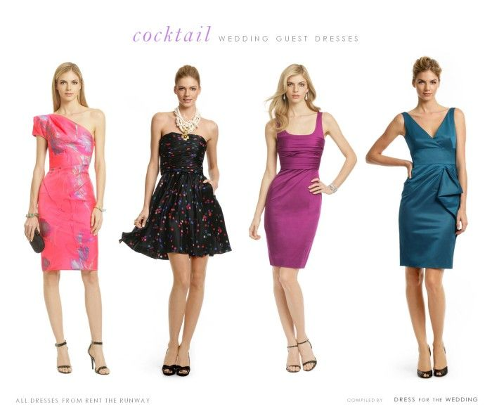 Ideas For Cocktail Dresses To Wear To A Wedding!