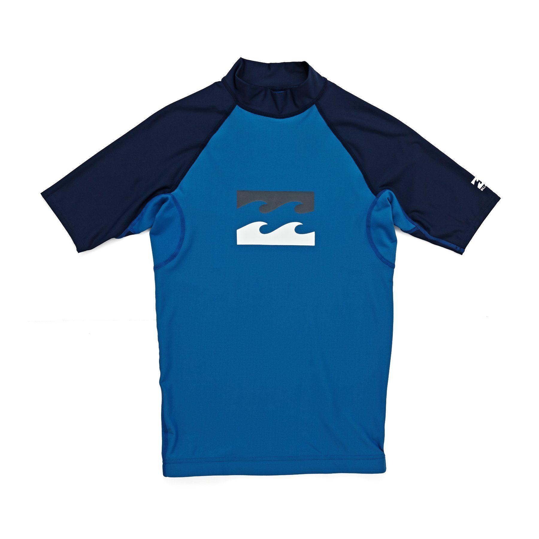 Billabong Team Wave Ss Boys Rash Vest