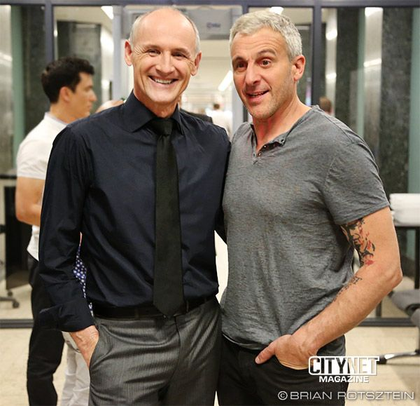 Colm Feore And Patrick Huard
