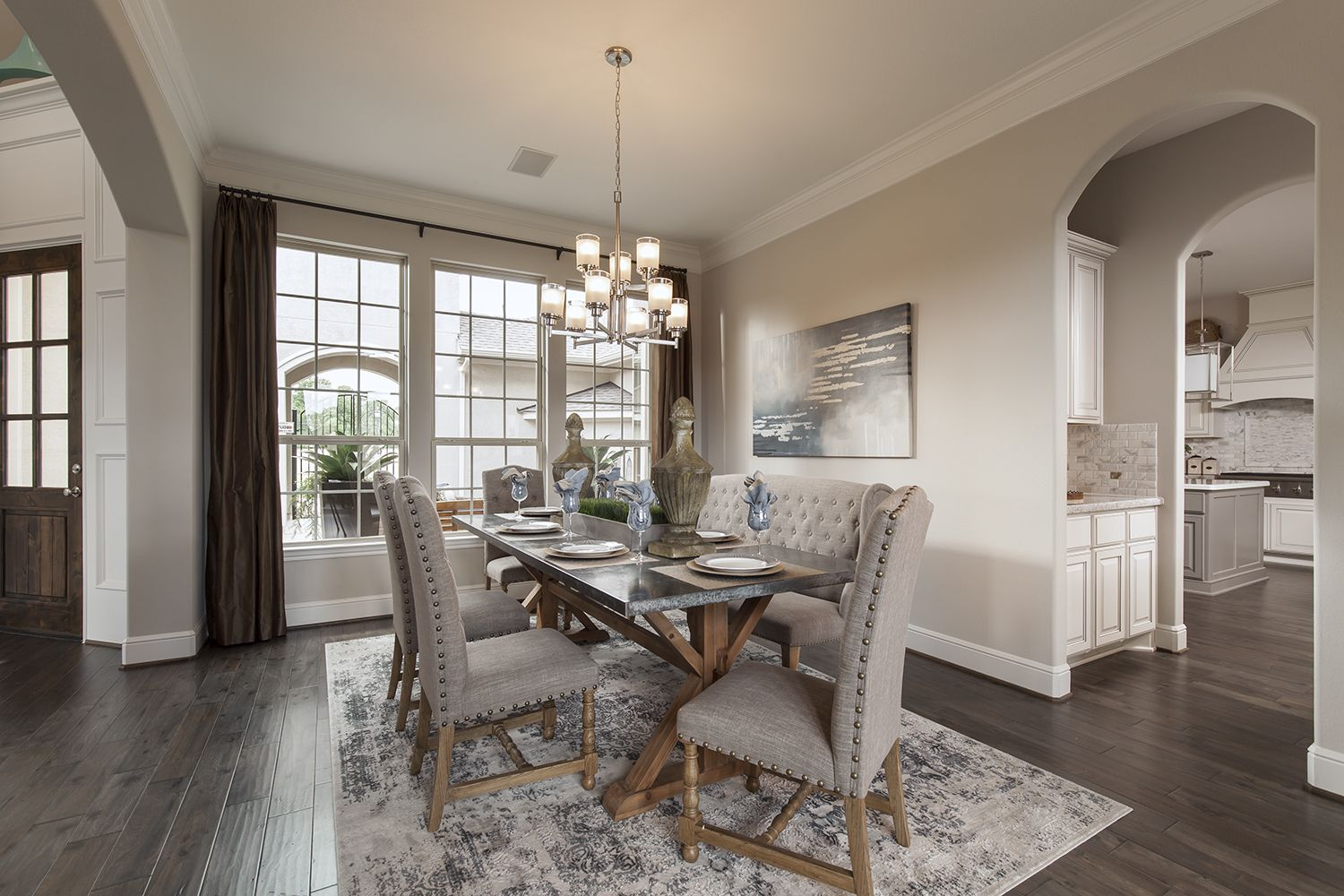 The new homes for sale at Bridlecreek