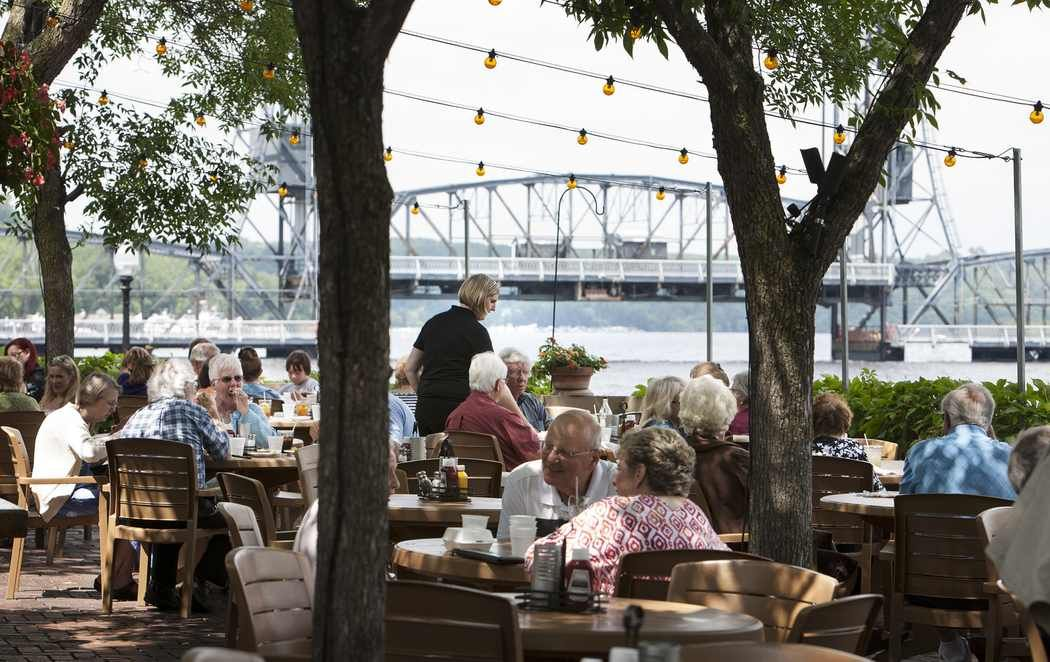 Looking for the twin cities best outdoor dining here are