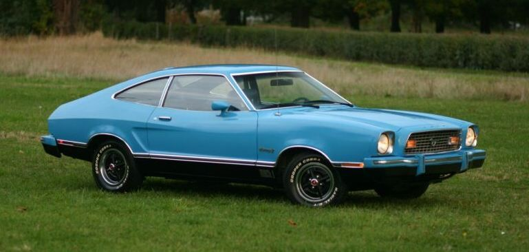 Light Grabber Blue 1974 Mach 1 Ford Mustang Ii Hatchback