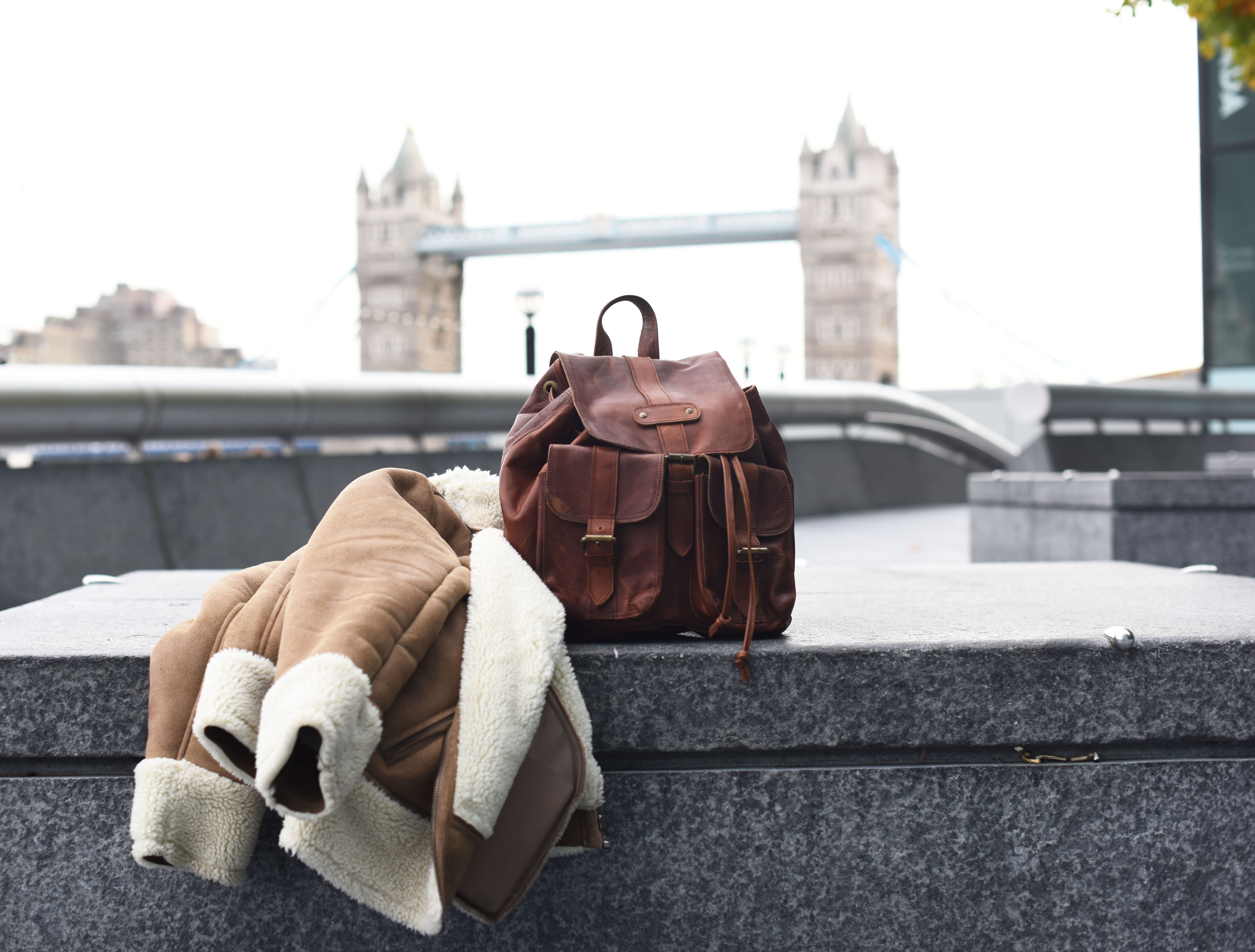 London vibes with the Nomad leather backpack from MAHI Leather. 27cbb69e37a3d