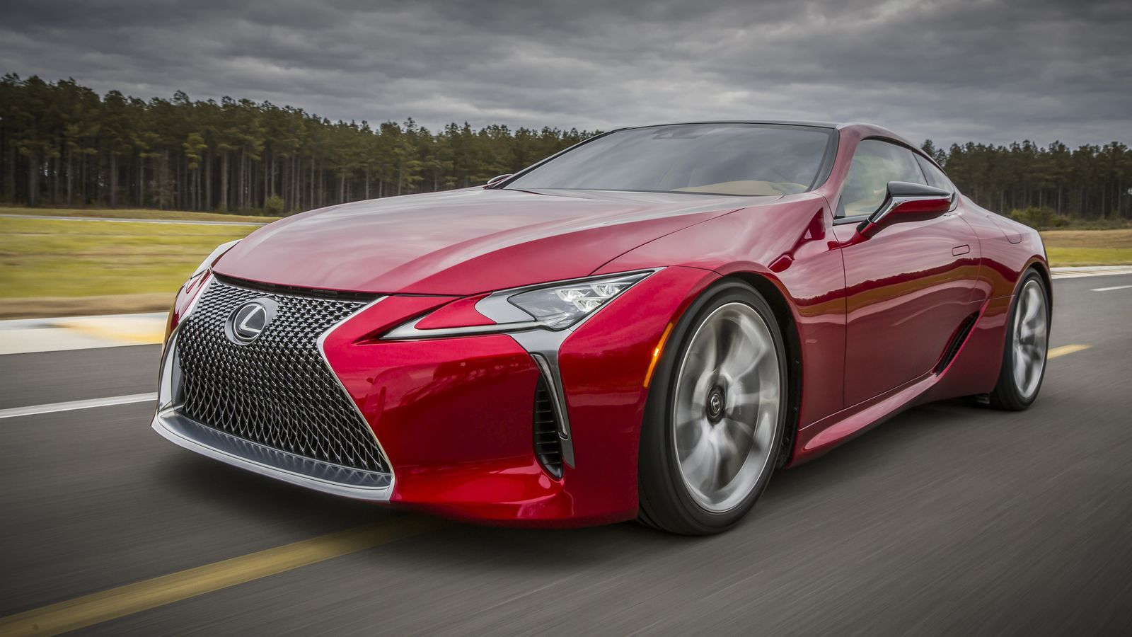 The Lexus LC 500 is a big, powerful, flagship coupe — and