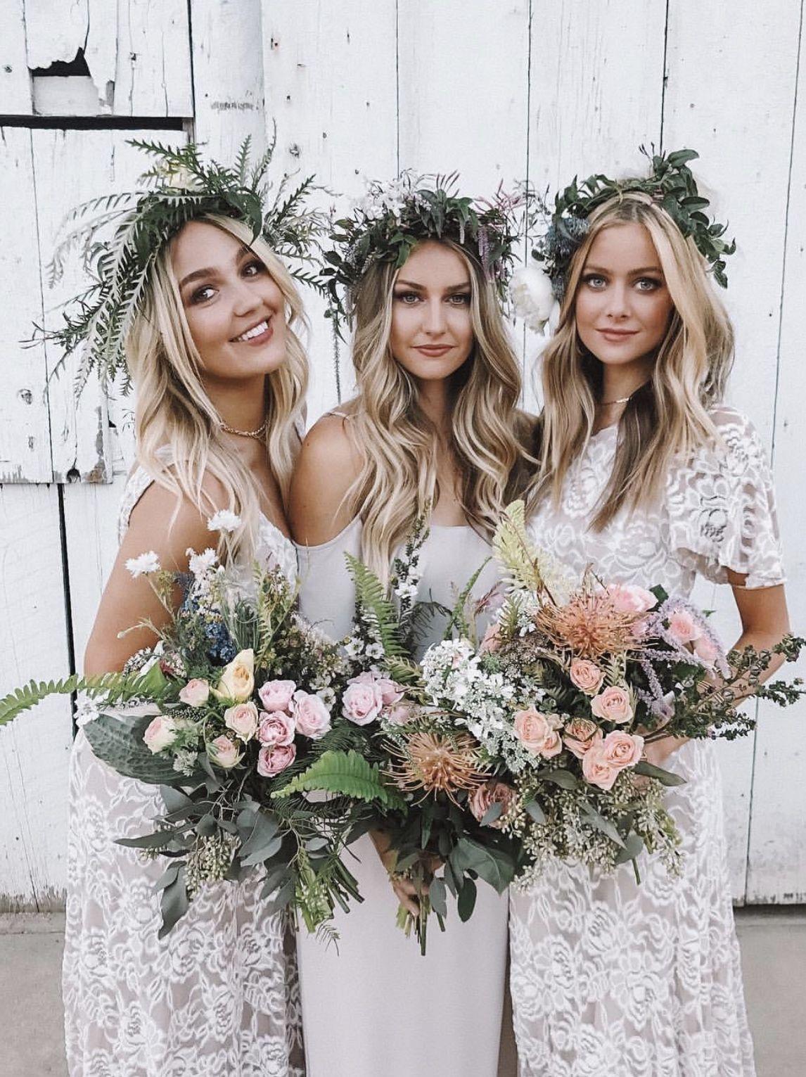 Neutral Boho Bridesmaid Dresses Show Me Your Mumu