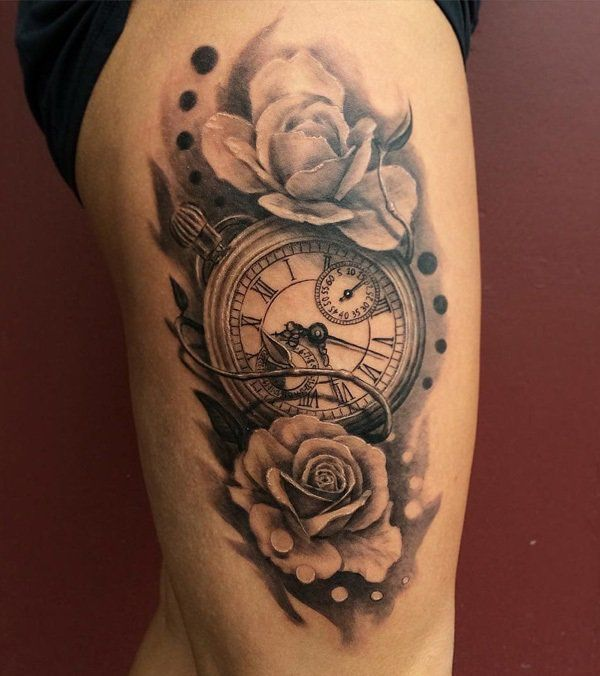 100 awesome watch tattoo designs pocket watch tattoos watch tattoos and pocket watch. Black Bedroom Furniture Sets. Home Design Ideas
