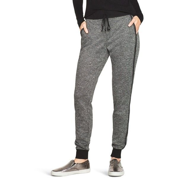 72071ca31d5 White House Black Market Womens Marled Jogger Pants ( 40) ❤ liked on Polyvore  featuring activewear