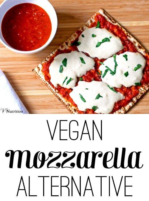 Vegan Mozzarella Cheese Recipe Vegan Cheese Recipes Cheese Alternatives Vegan Mozzarella