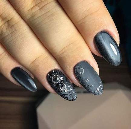 trendy cats eye nails gel gray ideas in 2020  grey nail