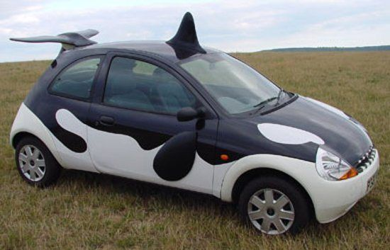 Halloween Costumes For Your Car Weird Cars Car Paint Jobs