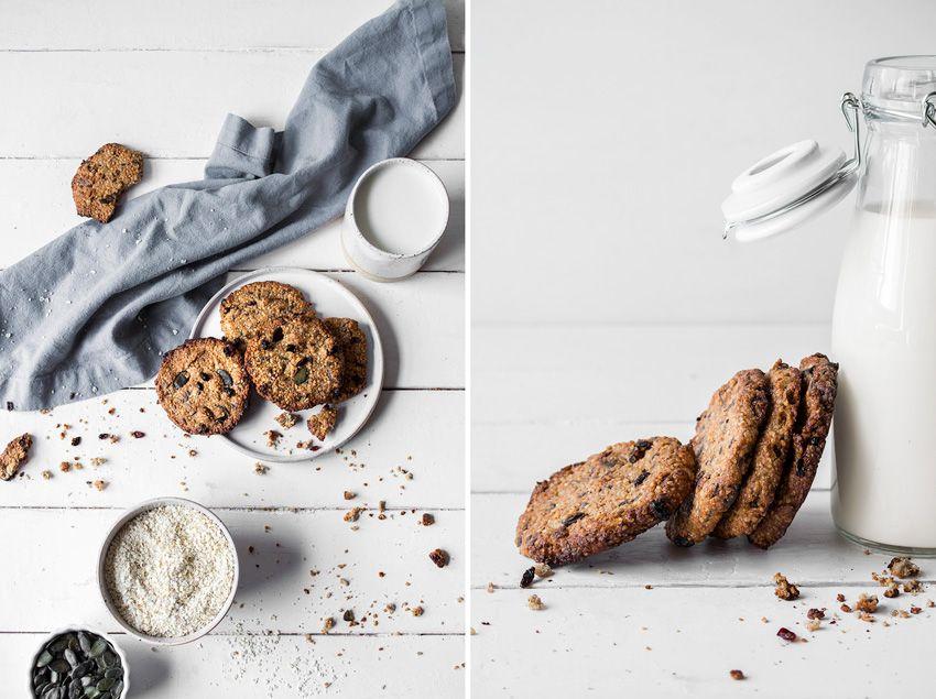 Kekse zum Frühstück - knusprig, vollwertig, vegan und glutenfrei