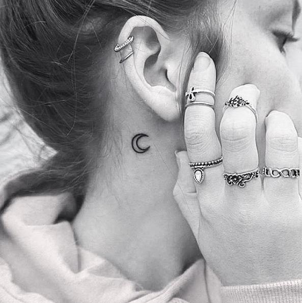 19 Tatuajes lindísimos que se verán perfectos en tus orejas