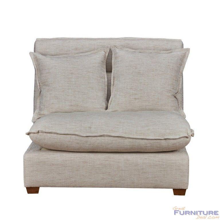 classic home furniture leona armless chair 2300sc11c classic rh pinterest com